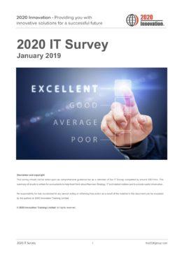 IT Survey January 2019